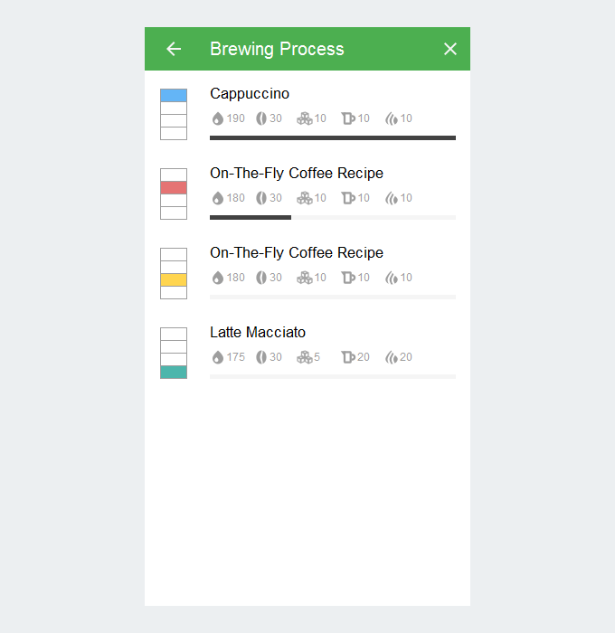 Brewing Process Page (XS And SM)